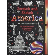 America: An Art Activity Book for Patriotic Artists and Explorers of All Ages 'With Wooden Stylus', Hardcover/Peter Pauper Press