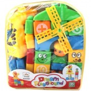 Swastik Dream Play Ground 35 Pieces Block Set - Numbers Counting Blocks - NON TOXIC