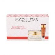 Collistar Pure Actives Collagen Cream Balm confezione regalo crema viso gionro 50 ml + crema contorno occhi Eye Contour Hyaluronic Acid 15 ml donna