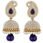 Jewels Gold Party Wear Wedding Latest Stylish Fancy Jhumki Earring Set For Women Girls