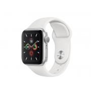 Умные часы Apple Watch Series 5 GPS 40mm Aluminum Case with Sport Band White MWV62RU/A