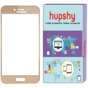Hupshy Samsung Galaxy On Max Tempered Glass Screen Protector Edge to Edge Fit 9H Hardness Bubble Free Anti-Scratch Crystal Clarity 2.5D Curved Screen Guard for Samsung Galaxy On Max Gold
