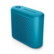 Тонколона Philips BT55A, 1.0, 2W RMS, Bluetooth, синя, до 6 часа работа