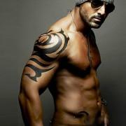 Kotbs Large Totem Temporary Tattoos Sticker Body Art Make up for Men Women Fake Tattoo Paper Waterproof (2 Sheet Pack)