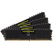 Corsair Vengeance Lpx 64Gb (16Gb x 4) DDR4-2400 (pc4-19200) CL16 1.2v Desktop Memory Module with Black low-profile heatsink