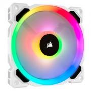 Ventilator 120 mm Corsair LL120 RGB LED Dual Light Loop PWM White