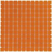 Mozaiektegel Montreal Orange Rust Clear Glass Glass 318x318