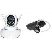 Zemini Wifi CCTV Camera and HM 1100 Bluetooth Headset for LG OPTIMUS 4X HD(Wifi CCTV Camera with night vision |HM 1100 Bluetooth Headset With Mic )