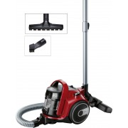 Прахосмукачка, Bosch BGC05AAA2, 700W, Bagless type, chili red/black