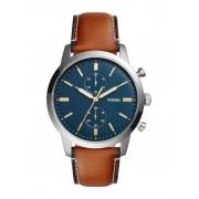メンズ FOSSIL 44MM TOWNSMAN 腕時計 ダークブルー