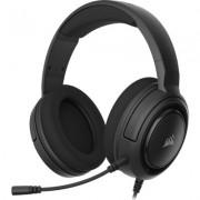 Геймърски слушалки с микрофон Corsair HS45 SURROUND Gaming Headset — Carbon