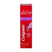 Colgate Max White White & Protect 75 ml bieliaca a ochranná zubná pasta unisex