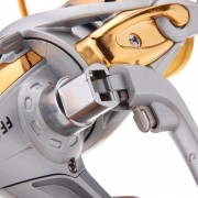 11BB Ball Bearings Left/Right Interchangeable Collapsible Handle Metal Fishing Spinning Reel 5.1:1 Gold