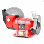 Polizor de banc HECHT 1724, WET&DRY, putere 250 W, diametru piatra 150/200 mm, 2950 rpm