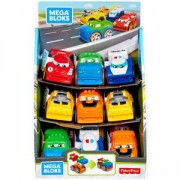 Игрален комплект Mega Bloks - мини колички, Асортимент, 175050