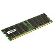 CRUCIAL - CT12864Z40B - MÉMOIRE RAM - 1 GO - DDR - 400 MHZ (PC3200) - CL3 - UNBUFFERED UDIMM 184PIN
