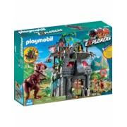 Cercetatori - Fortareata Si T-Rex Playmobil