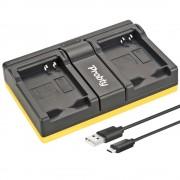 Probty en-el23 nl el23 usb dual charger voor nikon coolpix p600 pm159 p610s s810c p900s s810 p900