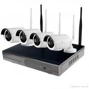 KIT Supravegere Wireless NVR 4Ch