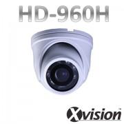 CCTV antivandal kamery 960H s 10m IR LED - bílá