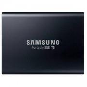 Твърд диск Samsung Portable SSD T5 2TB USB-C 3.1, 3D V-NAND, 540 MB/s read, 540 MB/s write, 256-Bit-AES, MU-PA2T0B/EU