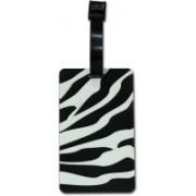 Super Drool Kids Bag (Zebra) Luggage Tag(Black)