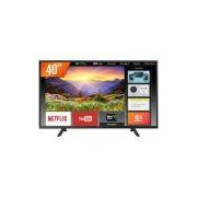 Smart TV LED 40'' Full HD Panasonic TC-40FS600B 2 HDMI USB Wi-Fi Conversor Digital Integrado