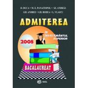 Admiterea in invatamantul superior si bacalaureat 2008 (eBook)