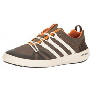 adidas Outdoor Men's Terrex Climacool Boat Water Shoe, Cargo Brown/Chalk White/Umber, 8 M US