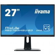 Monitor iiyama XB2783HSU-B3, 27'', LCD, AMVA+, 4ms, 300cd/m2, 3000:1, FHD, VGA, DVI, HDMI, USB, repro, pivot, výšk.nastav.
