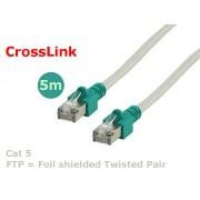 Valueline FTP-0009/5 FTP Cat5 CrossLink kábel 5m