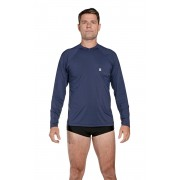 Camiseta Masculina Uv Praia Azul Marinho