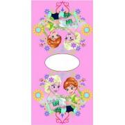 Disney Frozen outlet Elsa Anna - Poncho - 50x100cm