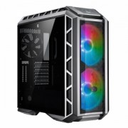 "Carcasa COOLER MASTER Middle-Tower E-ATX, MasterCase. H500P MESH ARGB, tempered glass, 2* 200mm ARGB fan (incluse), I/O panel, gun metal ""MCM-H500P-MGNN-S11"""