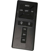 Casafan Ir Universal Remote Control For Ceiling Fan Ideal For Energy Saving Leds And Bulbs