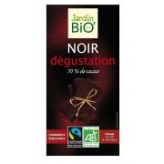 Ciocolata neagra cu 70% cacao BIO 100g JardinBio