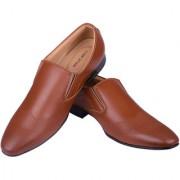 BB LAA Comfort Beige Men's Slip-on Formal shoes