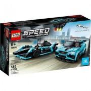 Lego KLocki LEGO Speed Champions - Formula E Panasonic Jaguar Racing GEN2 car i Jaguar I-PACE eTROPHY LEGO-76898