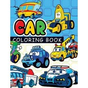 Car coloring book: On The Road Cars & More Transportation (Coloring Books For Kids), Paperback/Car Coloring Books for Kids