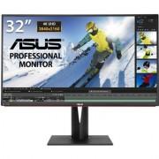 Монитор ASUS PA328Q Professional, IPS, 32 inch, Wide, UHD, HDMI, DisplayPort, Черен