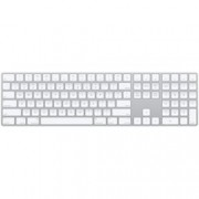 Клавиатура Apple Magic Keyboard, безжична, бяла, Bluetooth, Lightning port