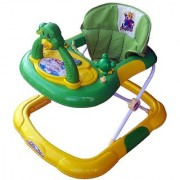 Ehomekart Green Cherry Walker with Breaking Feature for Kids