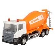 Rmz City Car 1:64 Scania - Cement Mixer, Orange