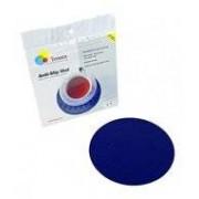 Able2 Anti-slip matten rond - 19 cm blauw - Able2
