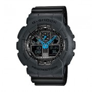 Casio G-SHOCK Standard Analog-Digital Watch GA-100C-8AE - Black