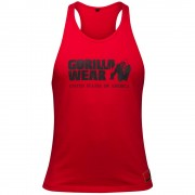 Gorilla Wear Classic Tank Top Red - XL