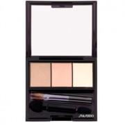 Shiseido Eyes Luminizing Satin trío de sombras de ojos tono BE 213 Nude 3 g