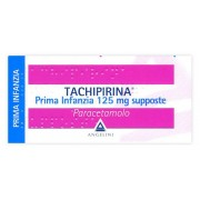 Angelini Spa Tachipirina Prima Infanzia 125 Mg Supposte 10 Supposte