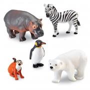 JOC DE ROL - ANIMALUTE DE LA ZOO - LEARNING RESOURCES (LER0788)