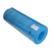 Modrá pěnová jednovrstvá karimatka - délka 180 cm, šířka 50 cm a výška 1 cm